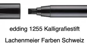 Edding 1255 01 3,5mm Calligraphie Pen schwarz