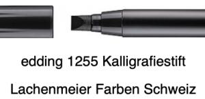 Edding 1255 01 5,0mm Calligraphy Pen schwarz