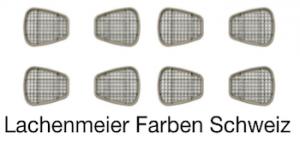 3M Atemschutz Maske 6000 Teile 6055 Filter Aktivkohlenfilter Gas + Kombifilter A2  6055 Pack 4 Paar