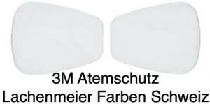 3M Atemschutz Maske 6000 Teile 5935 Filter Partikelvorfilter P3 R Karton 20 Stück / 10 Paar