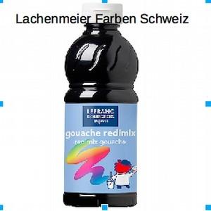 L+B Color + Co Redimix Gouache flüssig S1 265 Schwarz