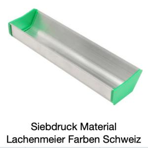 Siebdruck Werkzeug: Rinne / Aufziehrinne / Beschichtungsrinne 52cm