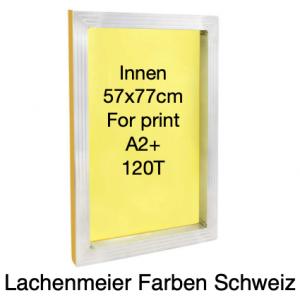 Siebdruck Rahmen Alu 57x77cm Innenmass für A2+ Gewebe 120T