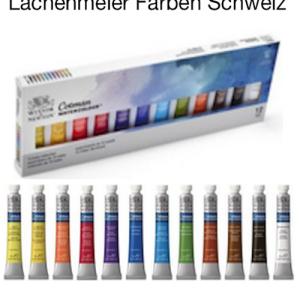 W&N Aquarelle Cotman Set 12 Tubes 8ml