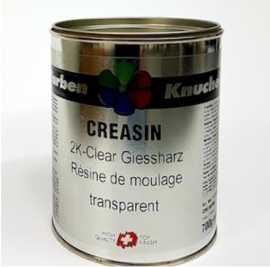 Creasin 2K Clear Epoxy Giessharz wasserhell transparent 7:3 (benötigt Härter 905, separat beziehen) Neu!