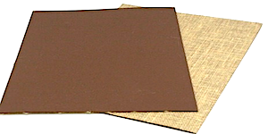 Linolplatten Dicke 3,2mm Braun A5 ca 14,8x21cm