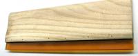 Siebdruck Werkzeug: Rakel Holz / Gummi 33cm für A3 Shore 70