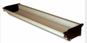 Siebdruck Werkzeug: Rinne / Aufziehrinne / Beschichtungsrinne 35cm (zu A4+ und A3+ Rahmen
