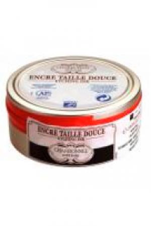 L&B Charbonnel Kupferdruckfarbe B S2 Encre Taille douce 074  Schwarz Luxc