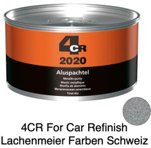 4CR 2020 Spachtel Aluspachtel Silbergrau inkl. Härter