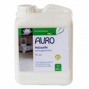 Auro 404 Wood soap, white