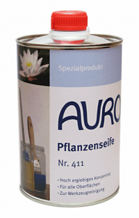 Auro 411 Plant soap for brushes