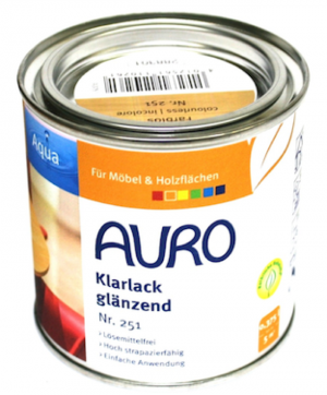 Auro Natural Paints Clear lacquer, glossy No. 251