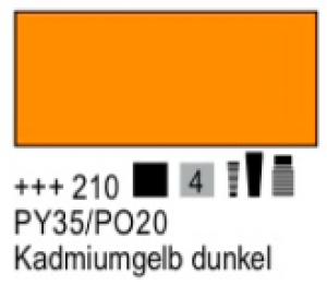 Talens Amsterdam Acryl Expert A 210 S4 Kadmiumgelb dunkel