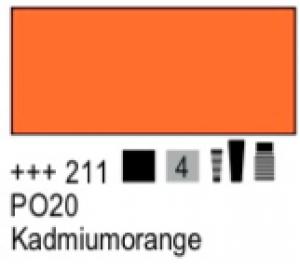 Talens Amsterdam Acryl Expert A 211 S4 Kadmiumorange