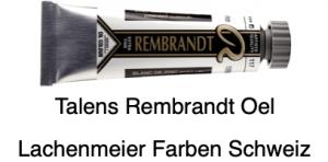 Talens Rembrandt Oelfarbe A 117 S1 Zinkweiss Leinöl