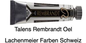 Talens Rembrandt Oelfarbe A 118 S1 Titanweiss Leinöl