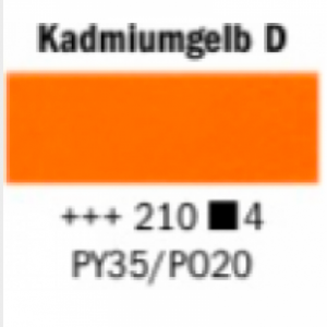Talens Rembrandt Oelfarbe A 210 S4 Kadmiumgelb dunkel