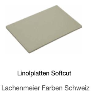 Linolplatten Softcut Kunststoffplatten 3mm 20x30cm Einzelplatte
