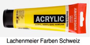 Talens Amsterdam Acrylfarbe Standard A  268 S1 Azogelb Hell