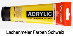 Talens Amsterdam Acrylfarbe Standard A  272 S1 Transparentgelb mittel