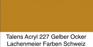 Talens Amsterdam Acryl Expert A 227 S2 Gelber Ocker
