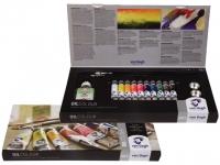 Talens Van Gogh Oelfarbe Set Karton 10 Tuben und div Zubehör