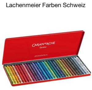 Caran d'Ache Classic Neocolor I Set Metallschachtel 30 Farben