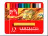 Caran d'Ache Artist Neopastel Set 12 Farben Metallschachtel