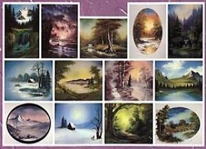 Bob Ross Oelmalen Instruktionen Buch Joy of Painting No 23