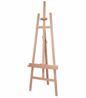 Staffeleien Studiostaffelei 046 Bu Sisley, Buchenholz, dreibein, max Bildhöhe 138cm