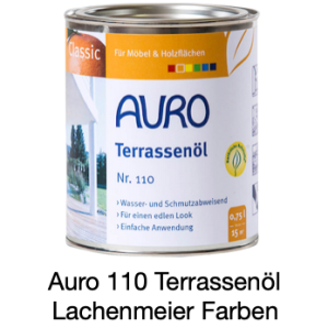 Naturfarben Auro 110-81 Terassenöl Classic Teak