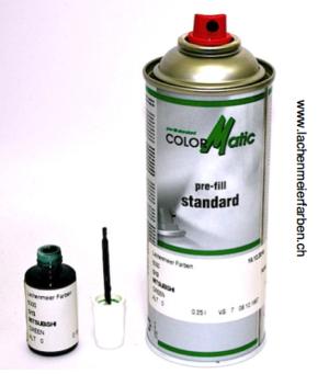 Spray eigenabfüllung inkl. Farbe Autolack Ce: Farbton nach Ihren Angaben, inkl. Tupflack