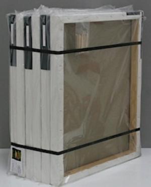Profi-Keilrahmen Set 6 Stück 40x60cm BW Universalgrund fein Dicke 4cm Nettopreis