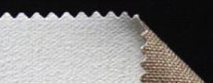 Leinwand L03 Reinleinen Gesso / Halb-Kreidegrund 560gr 210cm Zuschnitt per m1 ganze Breite = 2,1m2