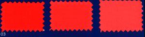 Ideal Maxi Textilfärbemittel 03 Rot Zinnober: Baumwolle, Viskose, Leinen, Jute bis zu 2kg Stoffgewicht. Pa: 75ml Fäbemittel + 100gr Fixierer