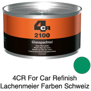 4CR 2100 Spachtel Polyester Glasfaserspachtel mit Haube