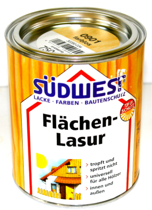SW LM Flächen-Lasur Holzlasur A 0901 Farblos