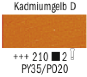 Talens Van Gogh Oelfarbe B 210 S2 Kadmiumgelb dunkel