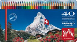 Caran d'Ache Farbstift Prismalo Set Metallschachtel 40 Farben