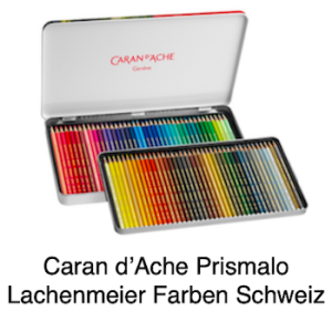 Caran d'Ache Farbstift Prismalo Set Metallschachtel 80 Farben