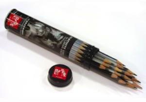 Caran d'Ache Bleistift Grafwood Set Blechschachtel alle 15 Härten