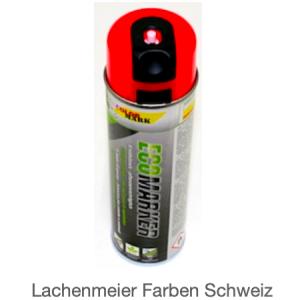 ColorMark EcoMarker Kreidespray Rot Fluo für kurzfristige Markierungen