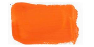 Profi-Gouache 261 Orange Künstler- Dekofarbe WB