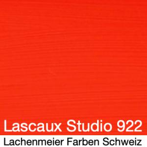 Lascaux Acryl Studio original A 922 Zinnoberrot