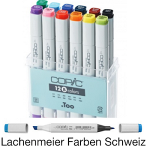 Copic Marker Set 12 Grundfarben