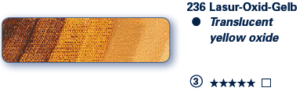 Schmincke Ölfarben Mussini  Tube 35ml 236 S3 Lasur-Oxid-Gelb