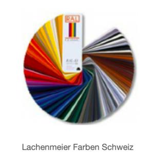 Farbkarte Norm Ral Karte Classic K5 semi matt Farbfächer mit 213 Ral-Farbtönen