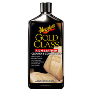 Meguiars Rich Leather Lederpflege Gold Class