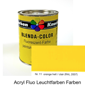 Blenda-Color Acryl Fluo WL-10 orange bright UV reflective paint